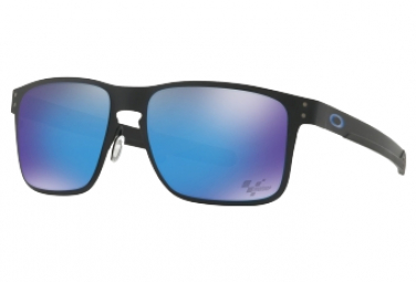 Oakley Holbrook Metal Moto GP Sunglasses Black - Prizm Sapphire Ref OO4123-1055
