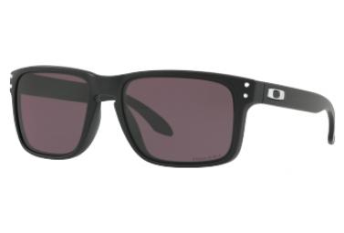 OAKLEY HOLBROOK Sunglasses Black - Prizm Grey Ref OO9102-E855