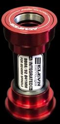 boitier de pedalier elevn pf24 rouge 24 mm