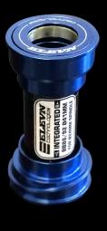 boitier de pedalier elevn pf24 bleu 24 mm