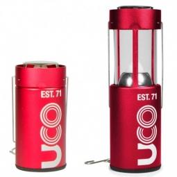 Lanterne à bougie UCO Original rouge