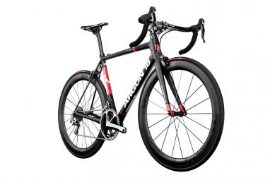 Vélo de Route Argon 18 GALLIUM PRO Shimano Ultegra 11V 2017 Noir / Rouge