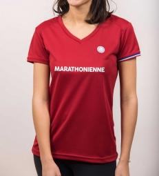 la marathonienne rouge m
