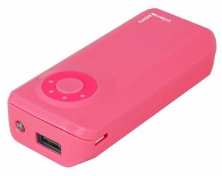 Image of Batterie externe emergency battery 4400 mah rose