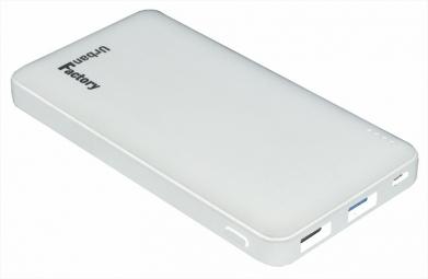Batterie de secours Qualcomm 2.0 10.000mAh Blanc