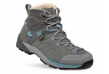 Zapatos De Caminata Garmont Santiago Gtx Para Mujer Gris Azul 37 1 2