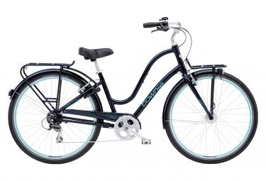 Bicicleta Ciudad Electra Townie Commute 8d 700 Noir / Bleu