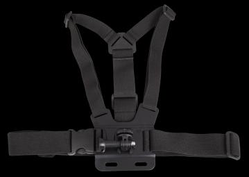 Système d´attache poitrine pour toutes caméras GoPro