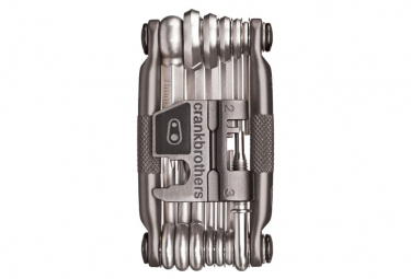 CRANKBROTHERS Multi-Outils M19 19 Fonctions Gris