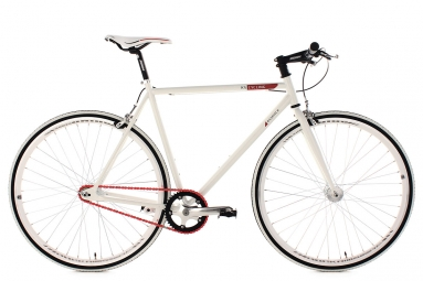 Fixie 28 essence blanc ks cycling 59 cm 185 190 cm