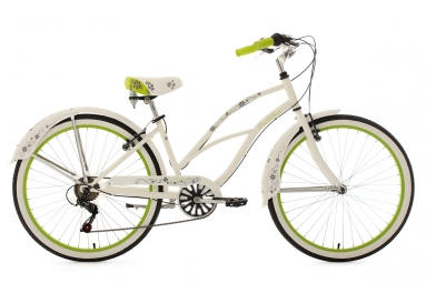 Beachcruiser 28´´ Bellefleur blanc TC 40 cm KS Cycling