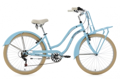Beachcruiser Cargo 26´´ Melba bleu ciel TC 41 cm KS Cycling