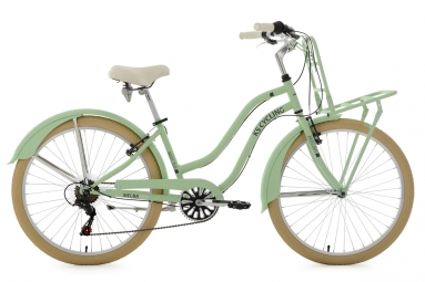 Beachcruiser Cargo 26´´ Melba vert menthe TC 41 cm KS Cycling