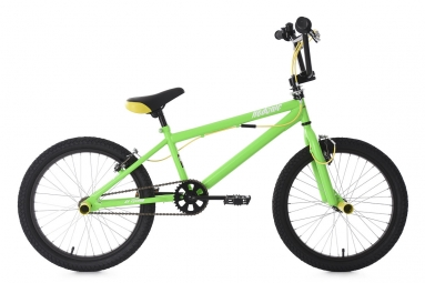 bmx 20 freestyle hedonic vert jaune ks cycling non communique
