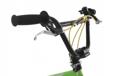 BMX 20freestyle HEDONIC vert-jaune KS Cycling