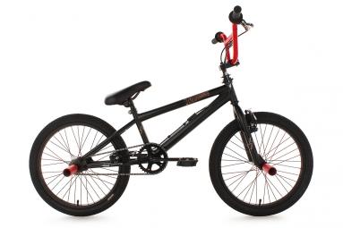 Bmx freestyle 20 dynamixxx noir et rouge ks cycling non communique