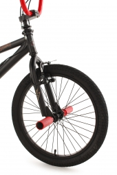 BMX Freestyle 20´´ Dynamixxx noir et rouge KS Cycling