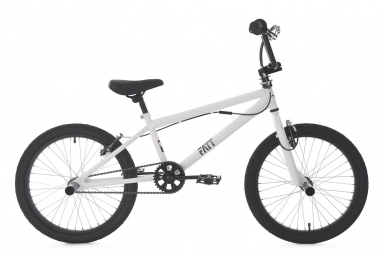Bmx freestyle 20 fatt blanc ks cycling non communique