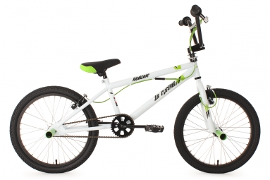 Bmx freestyle 20 hedonic blanc ks cycling 6 9