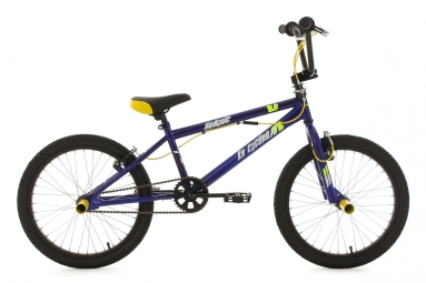 BMX Freestyle 20´´ Hedonic bleu-jaune KS Cycling