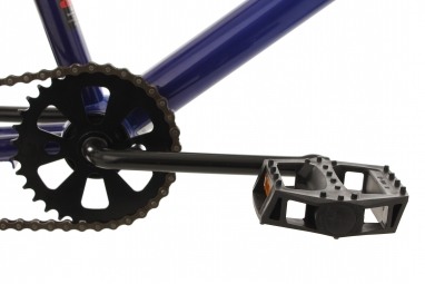 BMX Freestyle 20'' Hedonic bleu-jaune KS Cycling