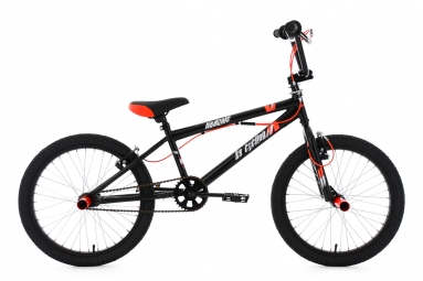 BMX Freestyle 20´´ Hedonic noir-rouge KS Cycling