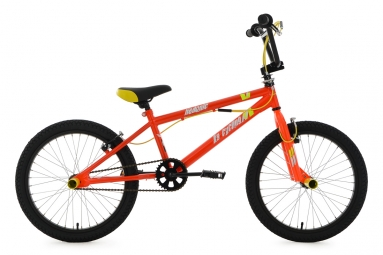 BMX Freestyle Hedonic 20´´ orange-jaune KS Cycling