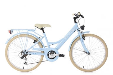 Velo enfant 24 toscana bleu tc 36 cm ks cycling