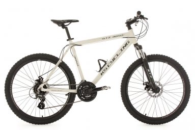 vtt semi rigide 26 gtz blanc tc 51 cm ks cycling l 177 187 cm