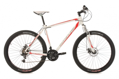 Vtt semi rigide 27 5 sharp blanc rouge tc 51 cm ks cycling l 177 187 cm