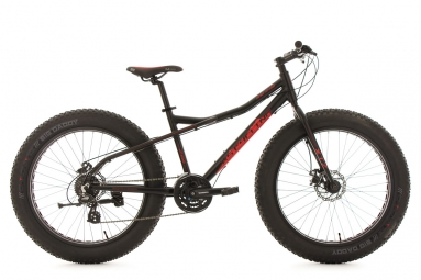 Vtt fatbike 26 snw2458 noir tc 46 cm ks cycling m 167 177 cm