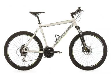 vtt semi rigide 26 gxh blanc tc 51 cm ks cycling l 177 187 cm