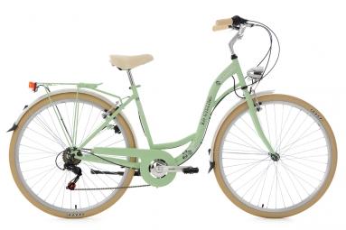 velo de ville dame 28 casino vert menthe 6 vitesses tc 48 cm ks cycling 48 cm 155 16