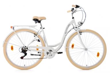 Velo pour dame 28 balloon blanc tc 48 cm ks cycling 48 cm 155 165 cm