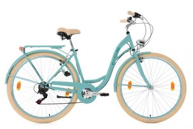 Velo pour dame 28 balloon turquoise tc 48 cm ks cycling 48 cm 155 165 cm
