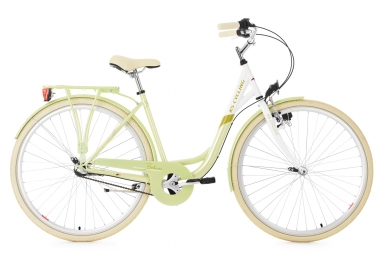 Velo pour dame 28 belluno vert clair 3 vitesses tc 48 cm ks cycling 48 cm 155 165 cm