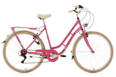 velo pour dame 28 casino 6 vitesses rose tc 48 cm ks cycling 48 cm 155 165 cm