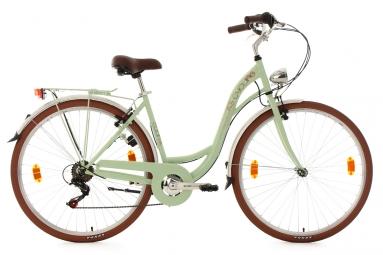 Velo pour dame 28 eden menthe tc 48 cm ks cycling 48 cm 155 165 cm