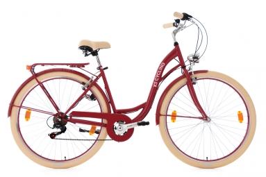 Vélo pour dame28'' Balloon rouge TC 48 cm KS Cycling
