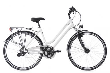 Vtc dame 28 madeira blanc tc 48 cm ks cycling 48 cm 155 165 cm