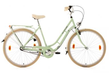 Velo de ville femme 28 3 vit casino vert tilleul tc 54 cm ks cycling 49 cm 155 160 cm