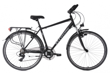 Vtc homme 28 ks cycling metropolis shimano tourney 7v noir 51 cm 165 170 cm