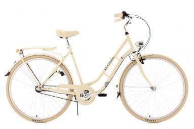 Velo de ville femme 28 ks cycling casino shimano nexus 3v beige 53 cm 162 172 cm