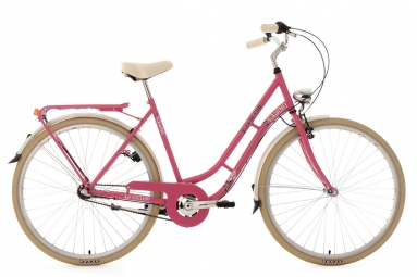 velo de ville dame 28 casino 3 vitesses rose vif tc 54 cm ks cycling 54 cm 167 176 cm