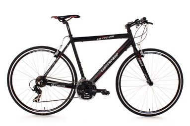 Velo route alu 28 ks cycling lightspeed noir 60 cm 184 191 cm