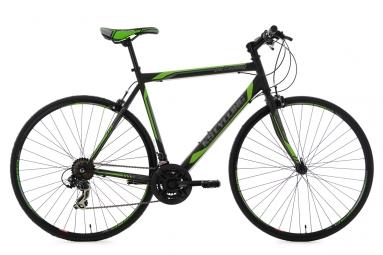 velo fitness 28 piccadilly noir vert ks cycling 56 cm 173 181 cm