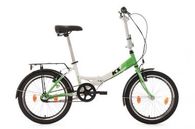 Velo pliant 20 fx 300 vert tc 30 cm ks cycling unique 165 185 cm