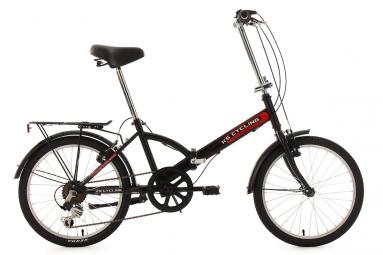 velo pliant 20 classic noir tc 34 cm ks cycling unique 165 185 cm
