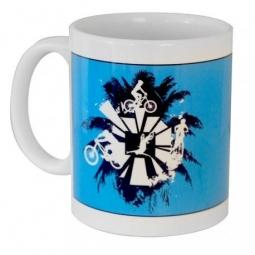 Mug bleu Roc d´Azur Fréjus