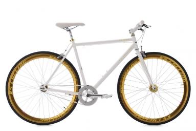 velo fitness 28 pegado blanc dore ks cycling 53 cm 162 172 cm